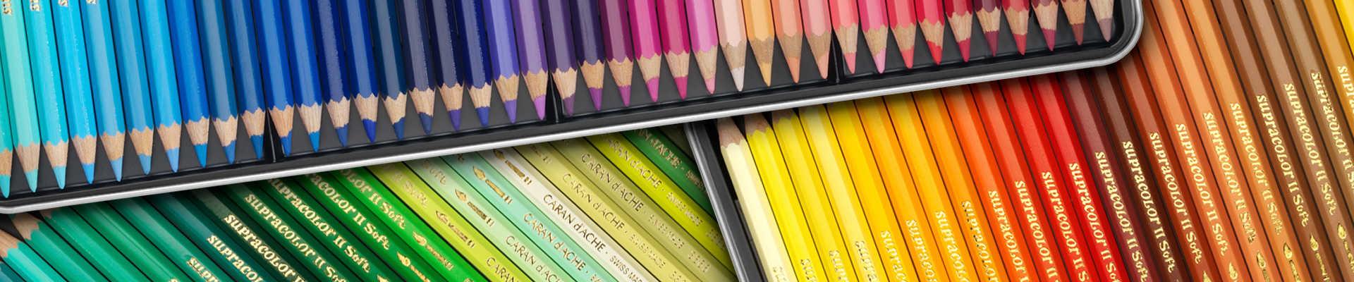 Акварельні олівці Supracolor®