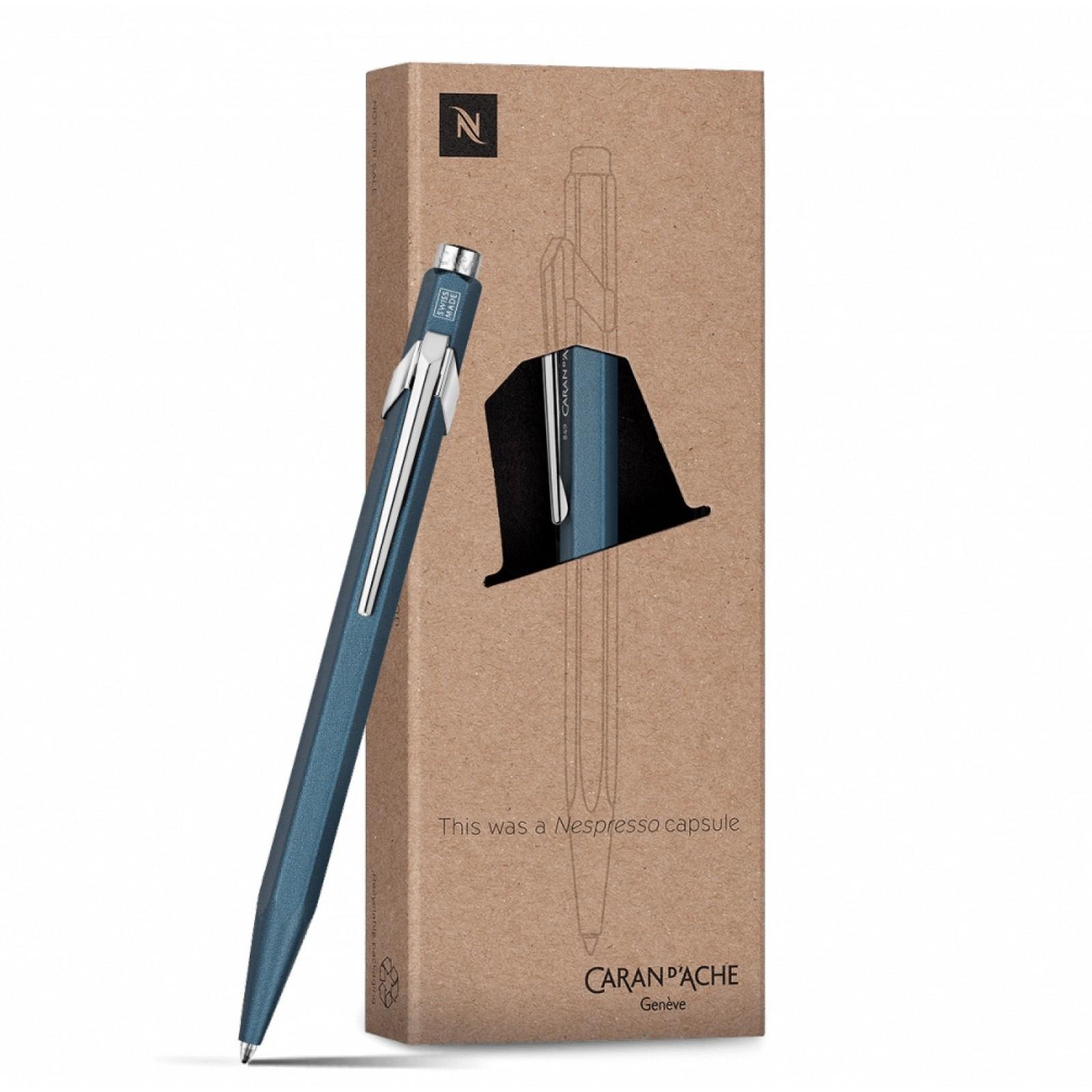 Ручка Caran d'Ache 849 Nespresso Синя + box