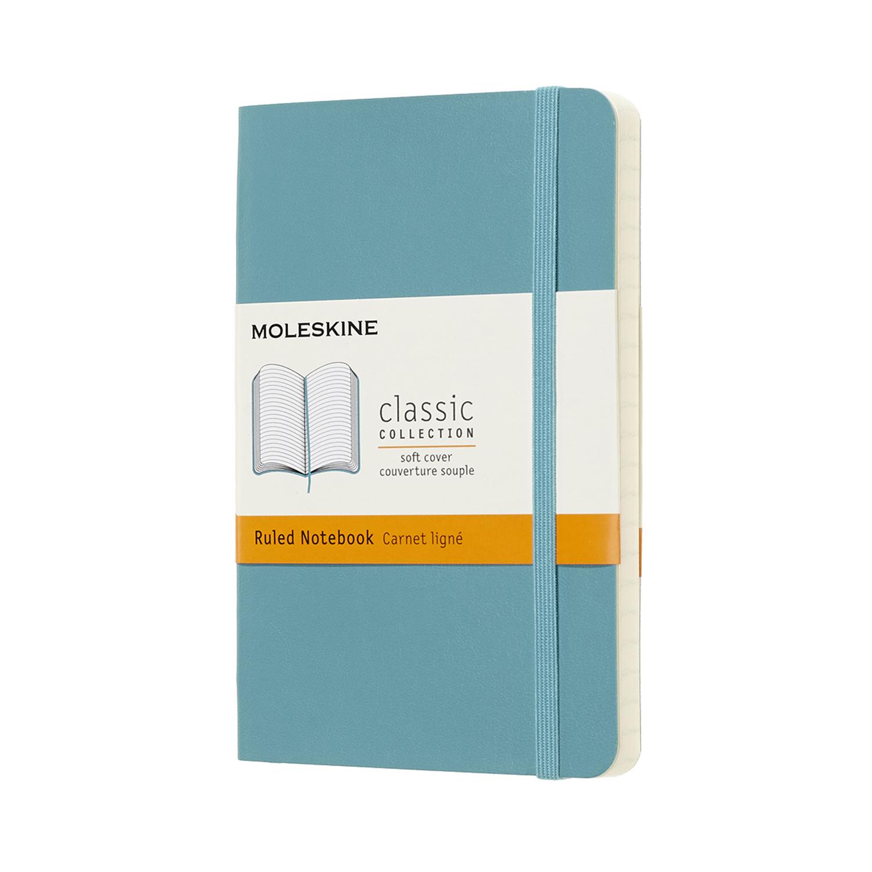 Записник Moleskine Classic кишеньковий / Лінійка Океанський Синій М'який