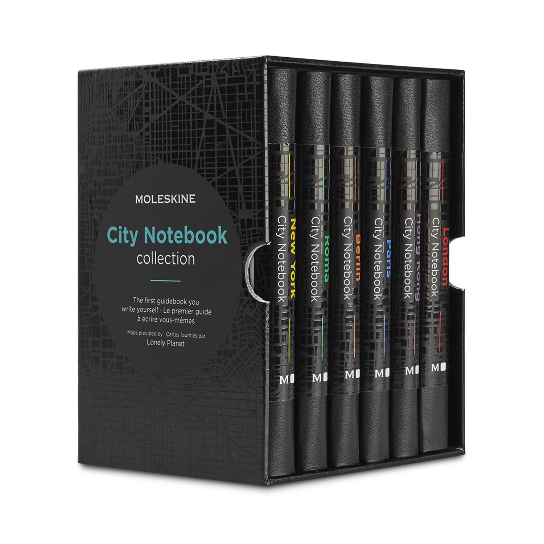 Набір Записників Moleskine City кишеньковий (6 Міст)