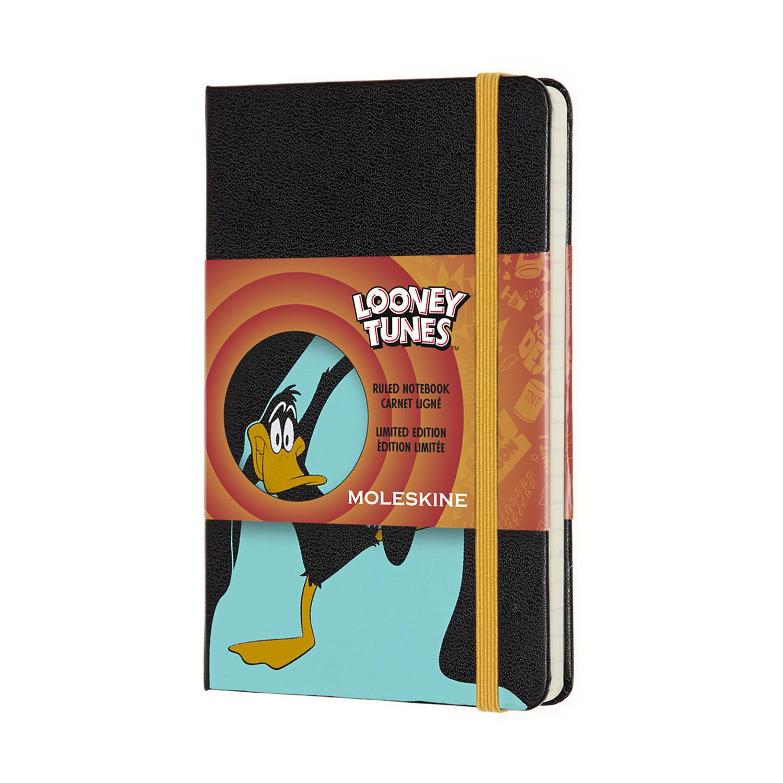 Записник Moleskine Looney Tunes кишеньковий / Лінійка Даффі Дак
