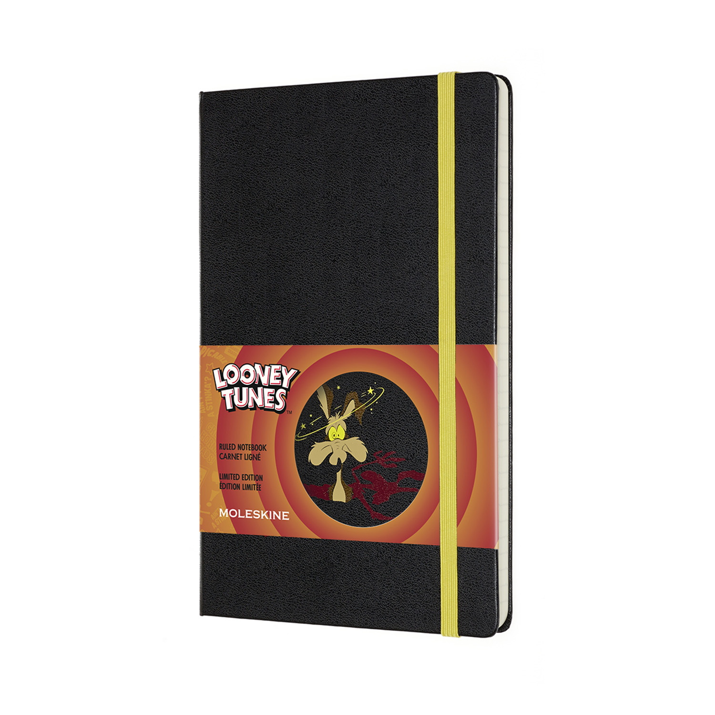 Записник Moleskine Looney Tunes середній / Лінійка Вайл І.Койот