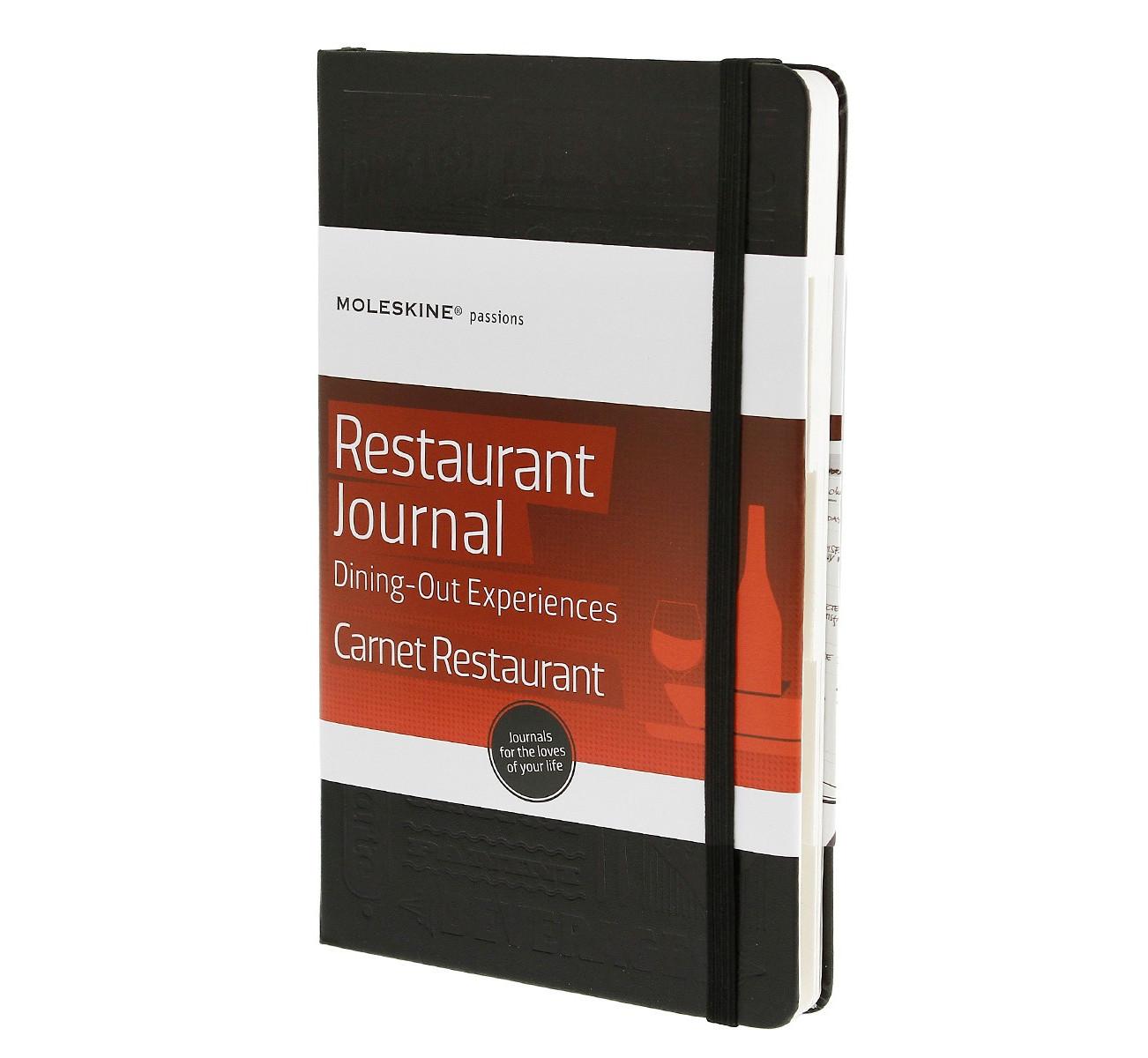 Записник Moleskine Passion середній / Книга ресторанів