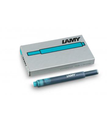 Набір чорнильних картриджів Lamy T10 Бірюзовий (5 шт.)