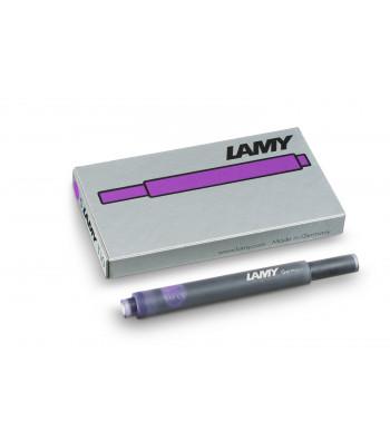 Набір чорнильних картриджів Lamy T10 Фіолетовий (5 шт.)