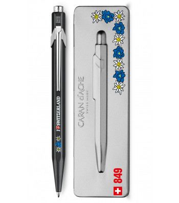 Ручка Caran d'Ache 849 Totally Swiss Едельвейс + box