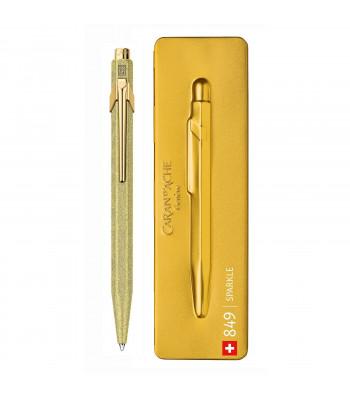 Ручка Caran d'Ache 849 SPARKLE Золотиста + box