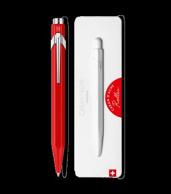 Ручка-ролер Caran d'Ache 849 Червона + box