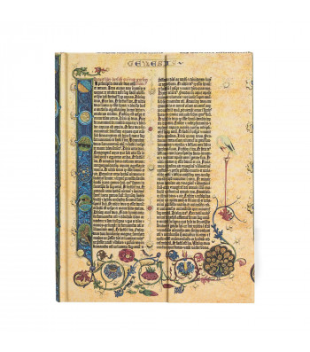 Записник Paperblanks Біблія Гутенберга - Генезис / великий Лінійка
