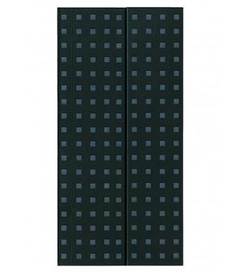 Записник Paper-Oh Quadro B6.5 Лінійка Чорний на Сірому