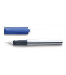 Чорнильна Ручка Lamy Nexx Матовий Хром із синім ковпачком A / Чорнила T10 Сині
