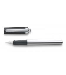 Чорнильна Ручка Lamy Nexx M Матовий Хром із чорним ковпачком A / Чорнила T10 Сині
