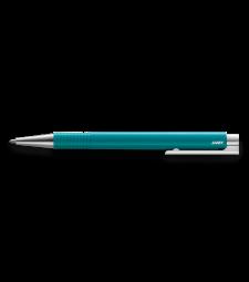 Кулькова авторучка Lamy Logo M+ Бірюзова / Стрижень M16 1,0 мм Чорний