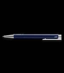 Кулькова авторучка Lamy Logo M+ Темно-синя / Стрижень M16 1,0 мм Чорний