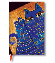 Записник Paperblanks Фантастичні Коти кишеньковий Лінійка Середземноморські Коти