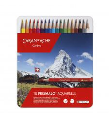 Набір Акварельних Олівців Caran d'Ache Prismalo® - 18 кольорів