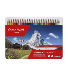Набір Акварельних Олівців Caran d'Ache Prismalo® - 30 кольорів