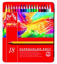 Набір Акварельних Олівців Caran d'Ache Supracolor - 18 кольорів