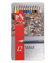 Набір Водостійких Олівців Caran d'Ache Pablo® - 12 кольорів