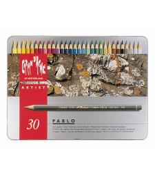 Набір Водостійких Олівців Caran d'Ache Pablo® - 30 кольорів