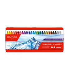Пастель Воскова Акварельна Caran d'Ache Neocolor® II - 30 кольорів