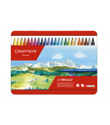 Набір Акварельних Фломастерів Caran d'Ache Fibralo - 24 кольори