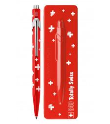Ручка Caran d'Ache 849 Totally Swiss Прапор + box