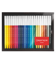 Набір Акварельних Фломастерів Caran d'Ache Fibralo Discovery - 24 кольори