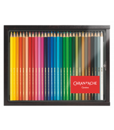 Набір Акварельних Олівців Caran d'Ache Swisscolor Discovery - 30 кольорів