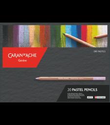 Набір Пастельних Олівців Caran d'Ache Artist - 20 кольорів