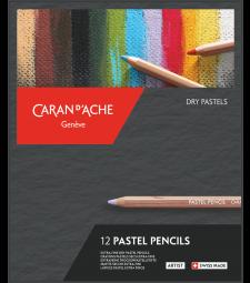 Набір Пастельних Олівців Caran d'Ache Artist - 12 кольорів