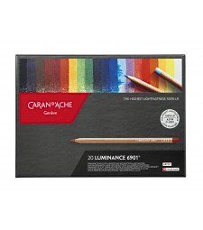 Набір Водостійких Олівців Caran d'Ache Luminance 6901® - 20 кольорів