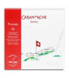 Набір Акварельних Олівців Caran d'Ache PRISMALO® 100 років 25 кольорів