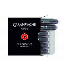 Набір чорнильних картриджів Caran d`Ache Chromatics Червоний