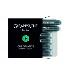 Набір чорнильних картриджів Caran d`Ache Chromatics Зелений