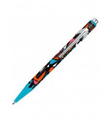 Ручка Caran d'Ache 849 Street Art Блакитна