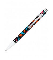 Ручка Caran d'Ache 849 Street Art Біла