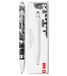 Ручка Caran d'Ache 849 Totally Swiss Ліс + box