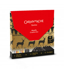 Набір Caran d'Ache Creative Box Metallic