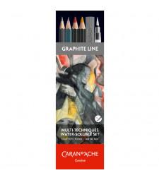 Набір Caran d'Ache Artist Multi-Techniques - 13 предметів