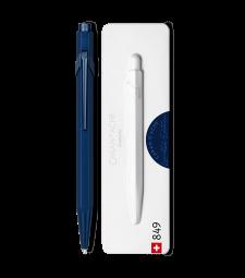 Ручка Caran d'Ache 849 Claim Your Style монохром Синя + box