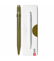 Ручка Caran d'Ache 849 Claim Your Style монохром Зелений мох + box