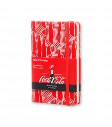 Записник Moleskine Coca-Cola кишеньковий Лінійка