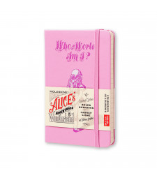 Записник Moleskine Alice's Adventures in Wonderland кишеньковий Лінійка