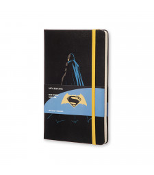 Записник Moleskine Batman vs Superman середній Лінійка Batman