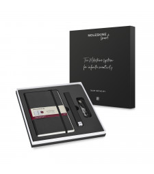 Набір Moleskine Smart Writing Set Ellipse (Smart Pen + Paper Tablet Лінійка Чорний)