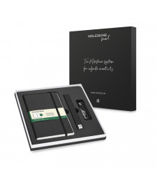 Набір Moleskine Smart Writing Set Ellipse (Smart Pen + Paper Tablet Нелінований Чорний)