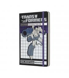 Записник Moleskine Transformers середній Лінійка Мегатрон