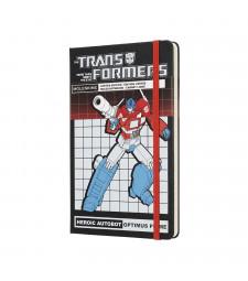 Записник Moleskine Transformers середній Лінійка Оптімус Прайм