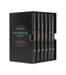Набір Мандрівника Moleskine City - 6 Міст
